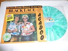 "BLACK LACE - Agadoo - 1984 German 3-track 12"" vinyl Coloured single"