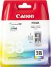 Canon Original CL-38 (2146B001) Cartouche d'encre couleur