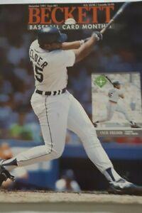 1991 Dec Beckett Baseball Card Monthly #81  Cecil Fielder Detroit Tigers