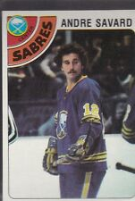 1978-79 TOPPS HOCKEY ANDRE SAVARD #253 SABRES NMMT/MINT *54859