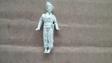 1/76  ( 20mm ) scale Vac U cast  WWII Early war German Panzer Commander ( 1 FIG)
