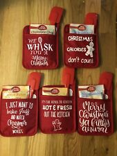 Personalized Oven Mitt pot holder Christmas Gifts