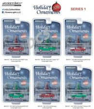 GREENLIGHT HOBBY EXCLUSIVE 2016 HOLIDAY ORNAMENTS SERIES 1 DIECAST 1/64  40010