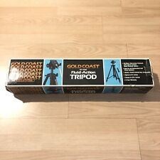 Gold Coast GT-450 Fluid Action 60 Inch Tripod -- Used Great Condition W Box