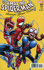 AMAZING SPIDER-MAN: RENEW YOUR VOWS #4 RAMOS VARIANT 1:25 COVER B B&B NM