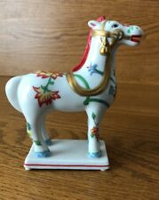 Franklin Mint Curators' Collection of Classic Horse Sculpture Japanese Kakiemon