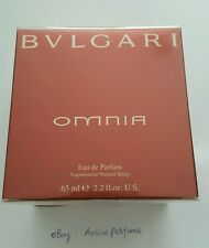 Omnia Bvlgari 65ml/ 2.2oz EDP Spray Rare Sealed Box Womens Perfume Free Shipping