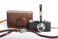 Leica I Black mit Elmar 3,5/50 chrom + Entfernungsmesser