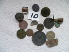 Assorted Metal Detecting Finds plus Hammered Silver Coin (10)