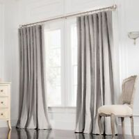 Valeron Rod Pocket Insulated Double-Width Window Curtain Panel 95 L x 108 W