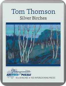 Artist Tom Thomson Silver Birches Canada Art Puzzle 100 Pieces 8x10 inches New!