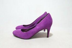Vintage Size 9 Womens Unique Color Magenta Heels