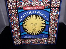 Stained Glass Craft Set Ancient Arts  Original Window Designs Vgc