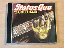 Status Quo/12 Gold Bars/Vertigo CD Album/West Germany