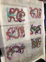 Chinese Folk Art Traditional Chinese Paper Cuts: Chinese Dragons Lot Of 6