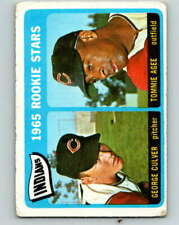 (HCW) 1965 Topps MLB #166 Culver/Agee Indians Rookies V10537