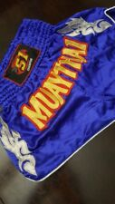 "Muay Thai shorts, sizeS, waist 20-24"", Length 15"""