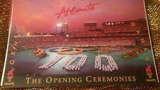 Vintage 1996 Atlanta Centennial Olympic Stadium Postcard of Opening Ceremony