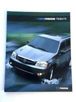 2004 Mazda Tribute 16-page Original Sales Brochure Catalog