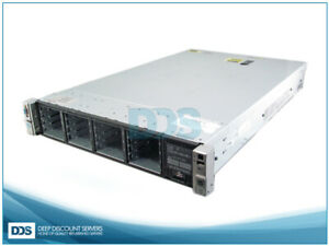 HPE DL380p G8 DL380pG8-S16 16 SFF (2)E5-2603 6-C 2Ghz 96GB P420 RAID (2)750W