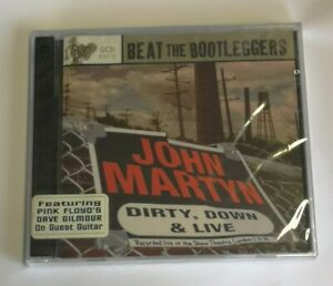 JOHN MARTYN - DIRTY DOWN & LIVE 2CD ***Sealed***Shaw Theatre 1990 Dave Gilmour