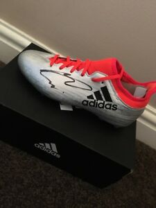 MARCO ASENSIO - REAL MADRID  - SPAIN FOOTBALL - SIGNED LEFT BOOT ADIDAS PROOF