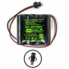 4.8v 2000mAh Ni-MH Rechargeable Battery Pack Replacement for RC Car w/ USB Charg