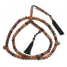 Large 9mm Oud Aloeswood Tasbih Prayer Beads Dhikr Prayer Beads Mild Oud Scent