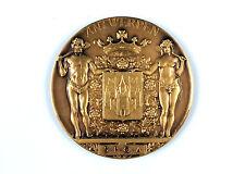 """Belgian gilt bronze medal """"City of Antwerp - Golden Wedding"""""""