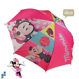 Disney Minnie Mouse Regenschirm Kinder Schirm Sonnenschirm Automatik Neu