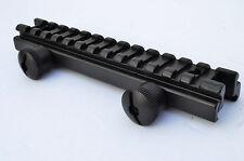"Rifle Scope Full 14slot Riser Mount Flat Top Low Profile 1/2"" .5"" Picatinny Rail"
