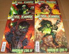 2012 Evil Ernie #1 4 Different Variant Edition Covers 1st Prints Dynamite