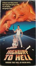 Highway to Hell (VHS, 1992, Rare) Patrick Bergen, Chad Lowe, # 026359044731