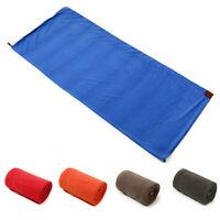 Portable Adult Sleeping Bag Ultra-light Fleece Liner Blanket Outdoor Camping