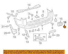 TOYOTA OEM 4Runner Rear Bumper-Parking Aid Reverse Sensor Retainer 8934835020