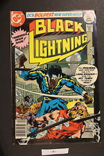 BLACK LIGHTNING #1 DC 1977 1st African-American DC Title CW TV Network FN 6.0