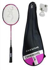 Browning Oxylite Ti 75 Pink Lite Carbon Badminton Racket + 3 Shuttles RRP £200