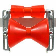 ✘ Auffahrhilfe inkl. Polyurethan Kielrollen STOLTZ RP-8 + RP-87 | Sliphilfe Boot