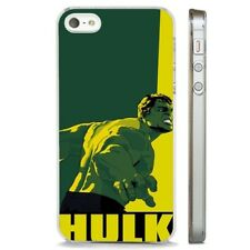 The Hulk Cool Art Marvel CLEAR PHONE CASE COVER fits iPHONE 5 6 7 8 X