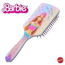 Official Mattel Barbie Mermaid Paddle Hairbrush