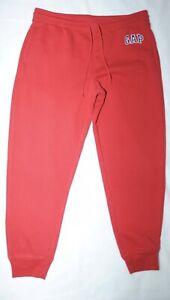 Gap Mens Red Jogging / Track Bottoms Size L