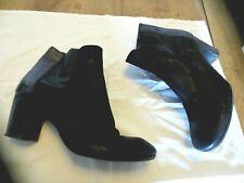 fru.it boots cuir noir irisé NEUVE Talon 7cm pointure 39