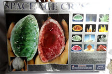 Nwt SPACEAGE CRYSTALS GROWING KIT 13 Crystal sets Emerald Amber Quartz Ruby type