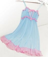 House Charm Sheer Babydoll lingerie Nightdress Nightwear Sleepwear G-string