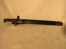 Vintage Italian WWII Model 1891 Carcano Bayonet Dated 1942