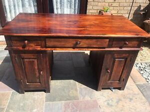 Sheesham Jali Desk heavy solid