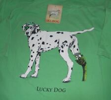 Sea Dog Dalmatian T-shirt LUCKY DOG Irish  NWT 100% to Rescue! Size L