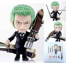 ONE PIECE/ NENDOROID ZORO RORONOA #301-ANIME FIGURE IN BOX 4""