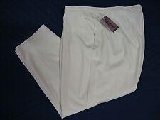 Allison Daley Women's Pants 5 87461127 Seasonal Basic White  22W  NWT