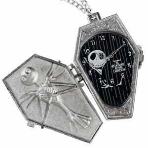 Mens Steampunk Jack Skellington The Nightmare Before Christmas Pocket Watch Gift